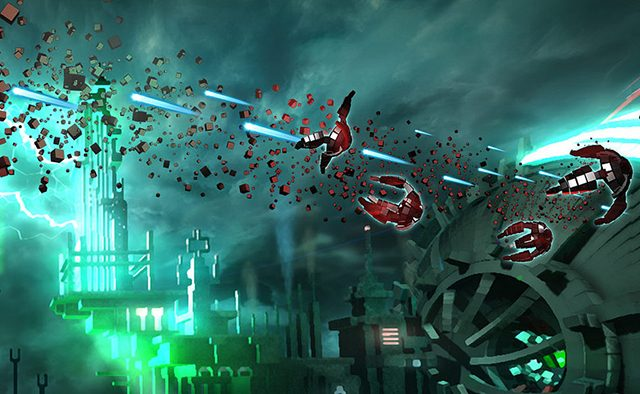 Resogun Blasting to PS3, PS Vita on 12/23