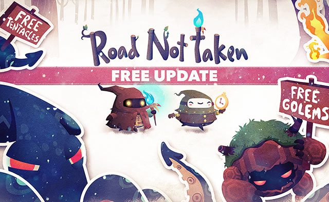 Road Not Taken: Free Update Out Now