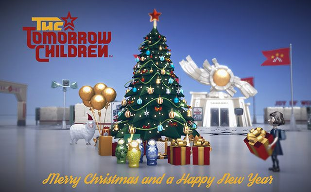 The Tomorrow Children: Alpha Videos, Infographic (Happy Holidays!)