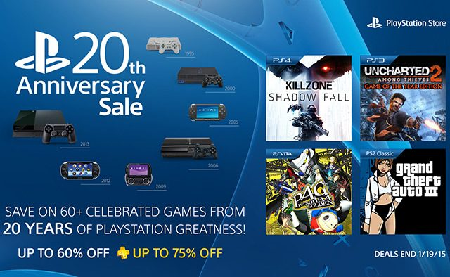 PlayStation Anniversary Sale Starts Today: 60+ Games Discounted