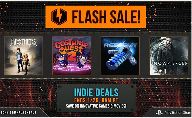 Flash Sale Now Live: More Than 60 Indie Games Discounted