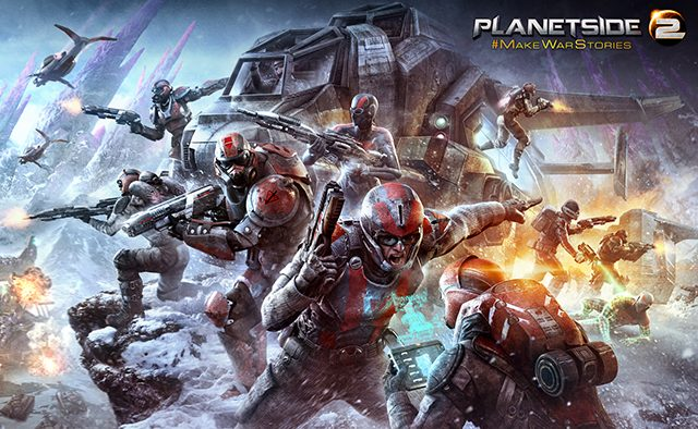 PlanetSide 2 Closed Beta Hits PS4 January 20th