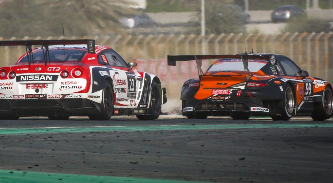 GT Academy winners score podium finish at Dubai 24 Hours 2015