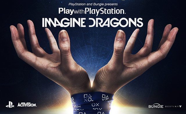 Play Destiny with PlayStation and Imagine Dragons