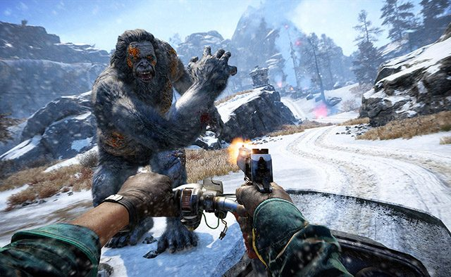 Far Cry 4: Valley of the Yetis Out March 10th