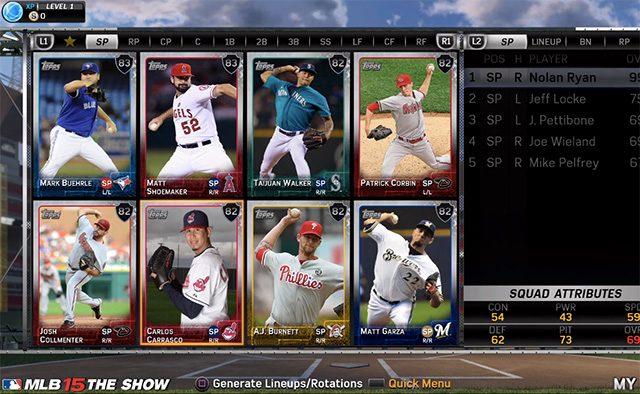 MLB 15 The Show: Diamond Dynasty Distilled