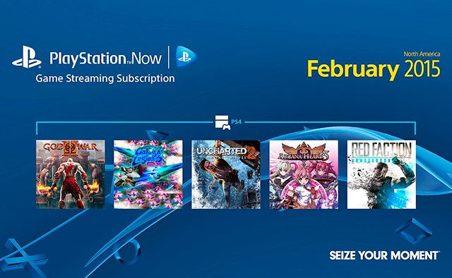 PlayStation Now Subscriptions: February Games Lineup
