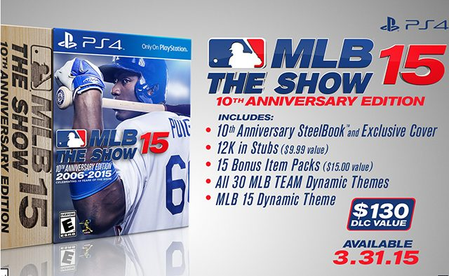 MLB 15 The Show 10th Anniversary Edition Revealed