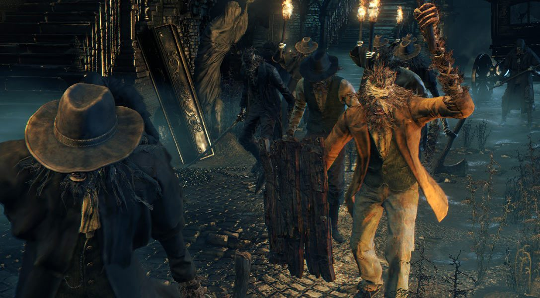 Watch the first 18 minutes of Bloodborne