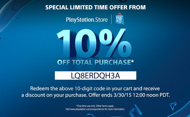 10 Discount Weekend For Ps Store Purchases Starts Today Playstation Blog