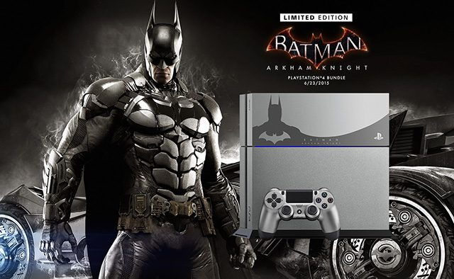 Announcing the Limited Edition Batman: Arkham Knight PS4 Bundle