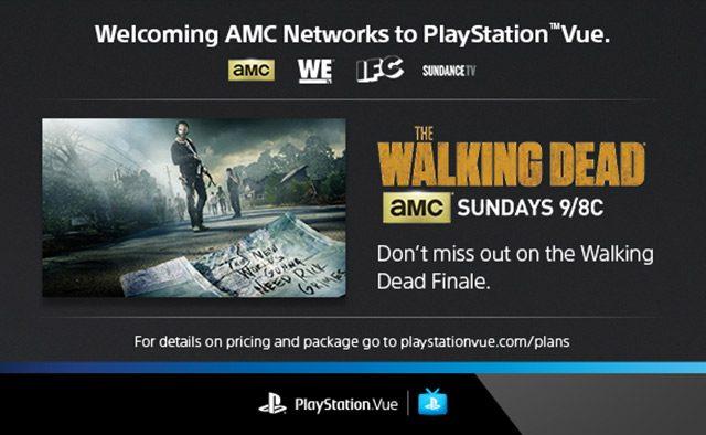 AMC Networks Join PlayStation Vue