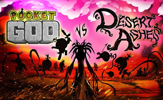Pocket God vs. Desert Ashes Coming to PS4, PS Vita