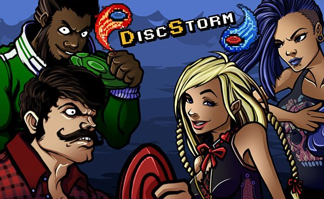 Introducing DiscStorm on PS Vita: Fast-paced Arena Combat