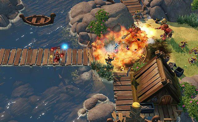 Slinging Spells in Magicka 2 on PS4