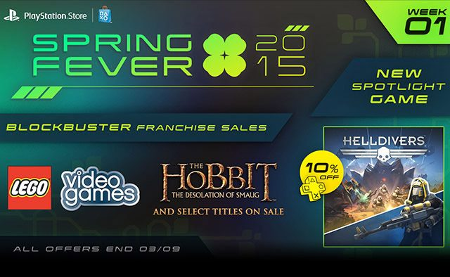 Spring Fever Week 1: HELLDIVERS Out Today, LEGO games & Hobbit Movies on Sale