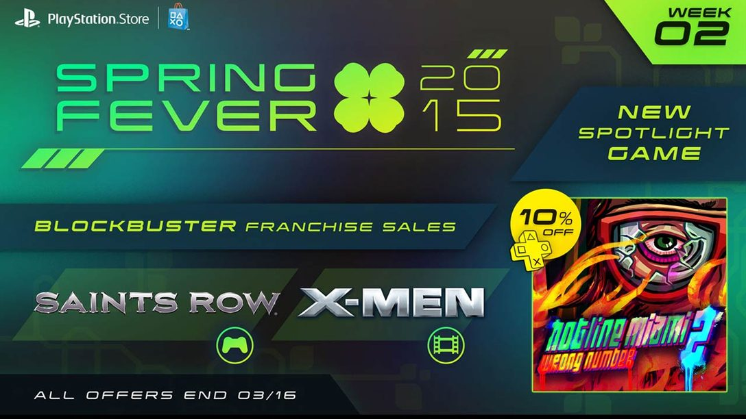 Spring Fever Week 2: Hotline Miami 2 Launches, More Game & Movie Sales