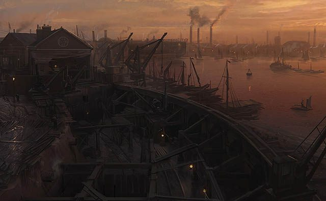 The Neo-Victorian Canvas: Visualizing The Order: 1886