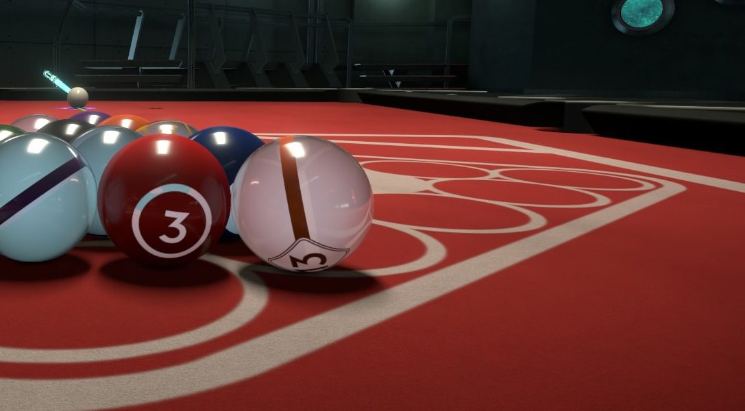 Hustle Kings brings 1080p pool to PS4 today
