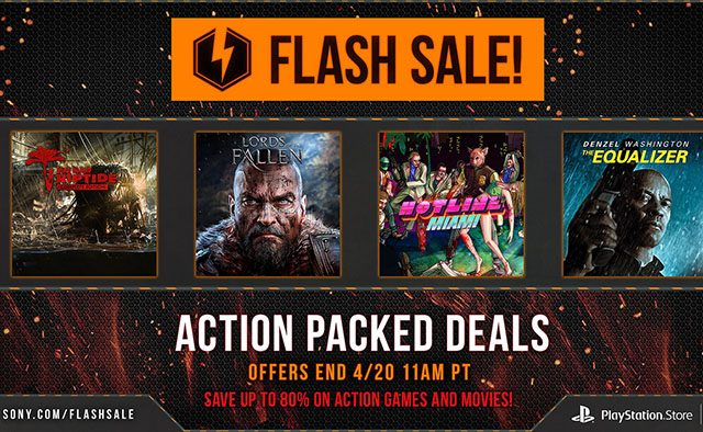 Flash Sale Starts Now: Deals on Action Games and Movies