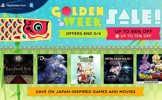 Golden Week Sale: Deals on Japan-Inspired Games, Movies, Shows