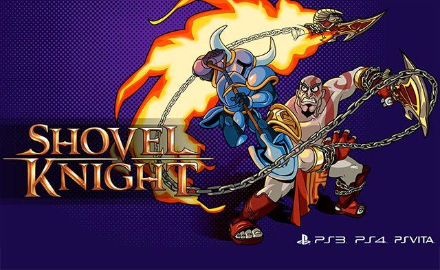 Shovel Knight vs. the God of War