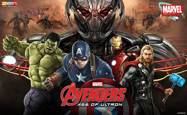 Announcing Avengers: Age of Ultron Pinball