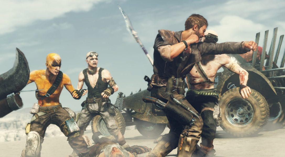 New gameplay trailer showcases the size and scale of Mad Max on PS4