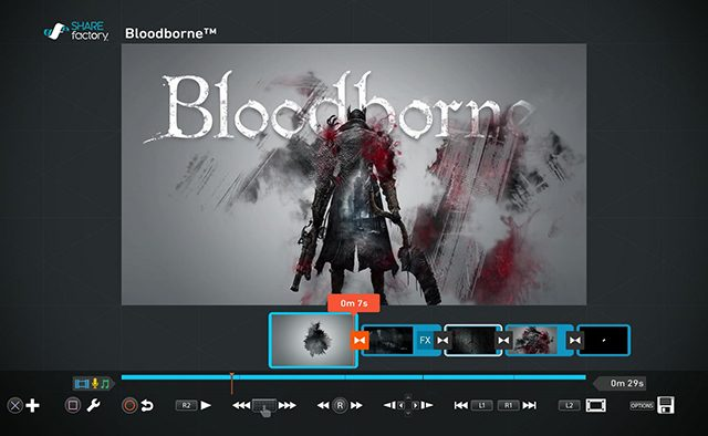 Bloodborne: New SHAREfactory Theme, Patch 1.04 Notes