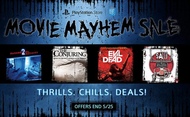Movie Mayhem Sale: Discounts on Horror Films