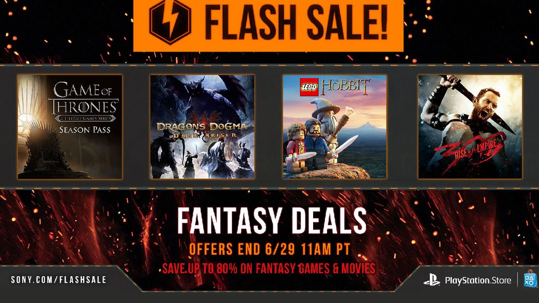 Flash Sale Starts Now: Fantasy Deals