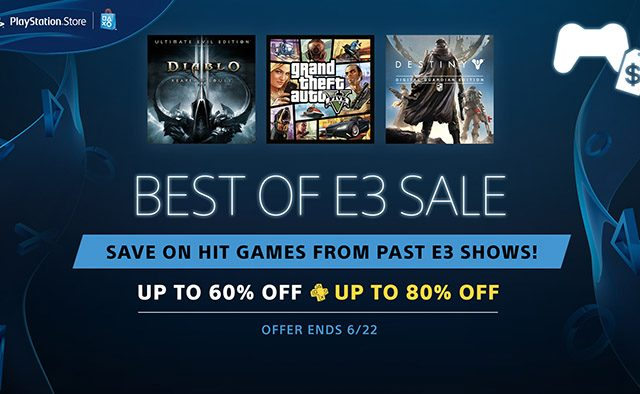 Best of E3 Sale: Titles From Shows Past and Game-Inspired Movies