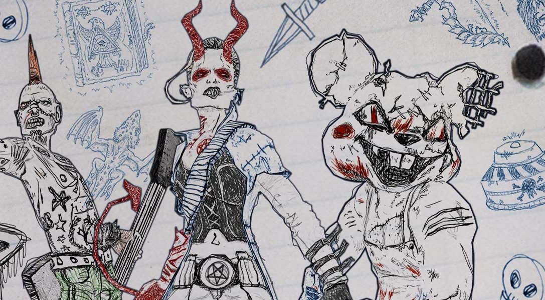 Watch new Kill Strain, Drawn To Death and Guns Up! gameplay videos