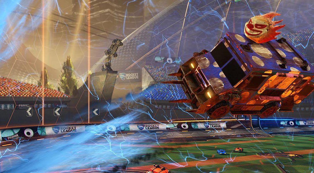 Rocket League launches on 7th July, Sweet Tooth joins roster