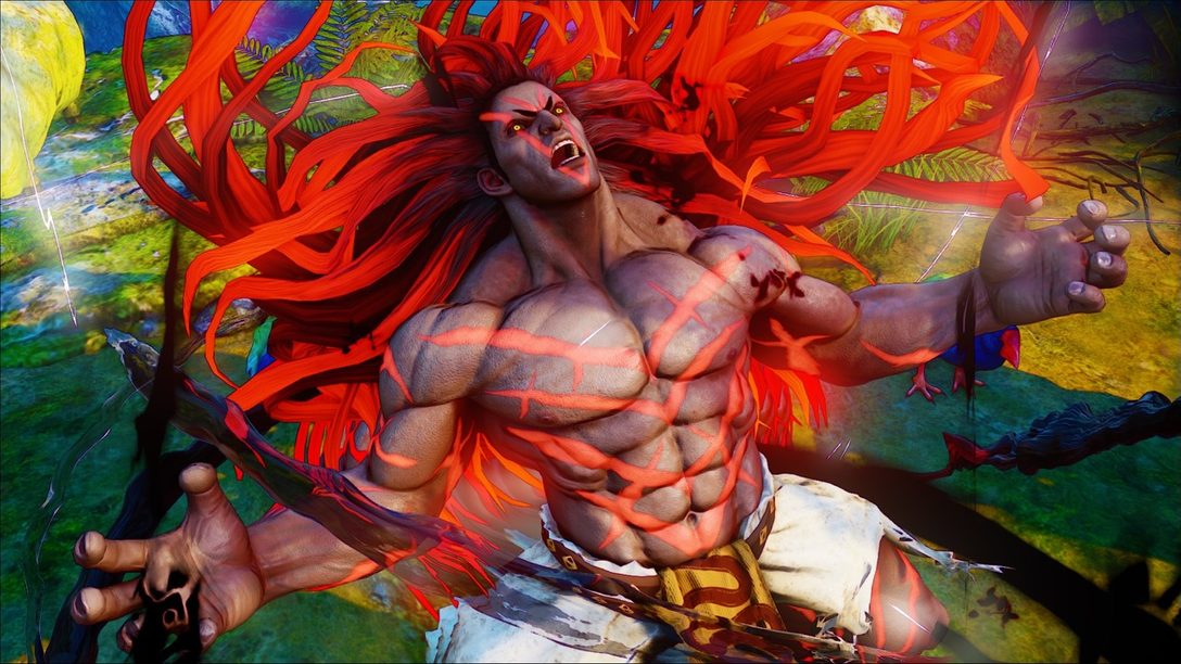 A New Challenger Joins Street Fighter V: Introducing Necalli