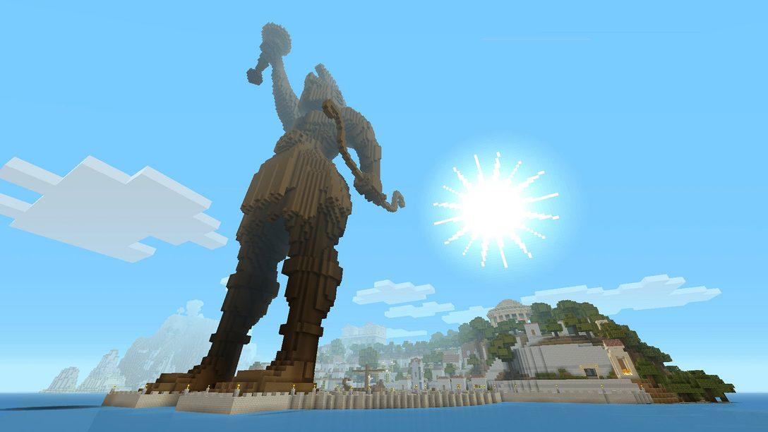 Minecraft Greek Mythology Mash-up Pack Out Today