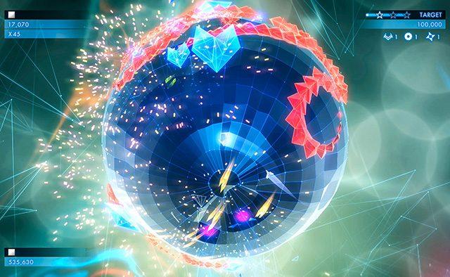Geometry Wars 3: Dimensions Evolved Hits PS Vita July 7th