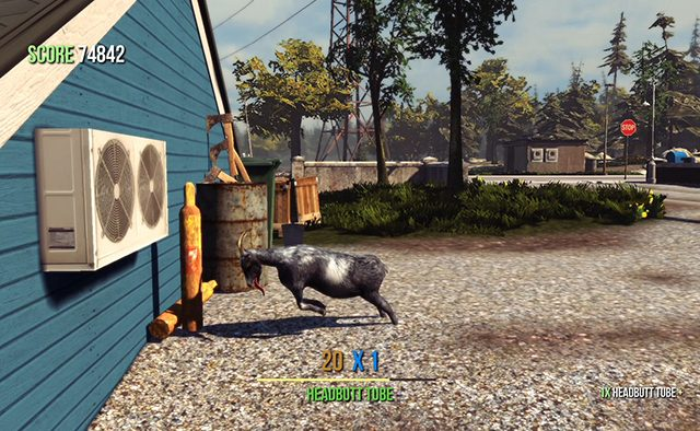Goat Simulator Coming to PS4, PS3 on August 11th