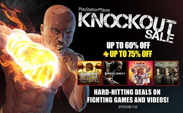 Knockout Sale: Deals on Fighting Games and Movies