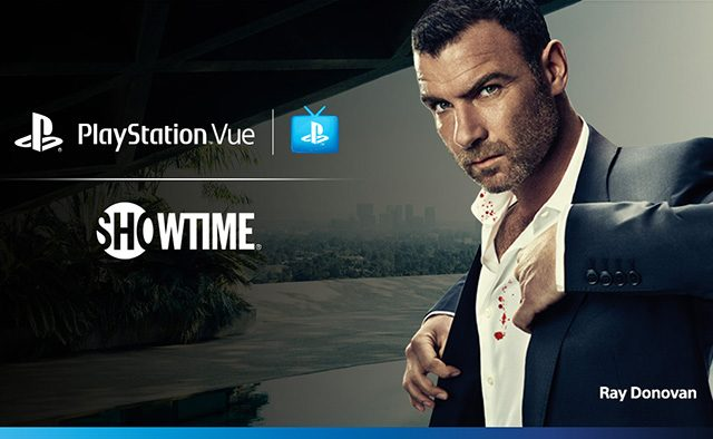 SHOWTIME Streaming Service Now on PlayStation Vue