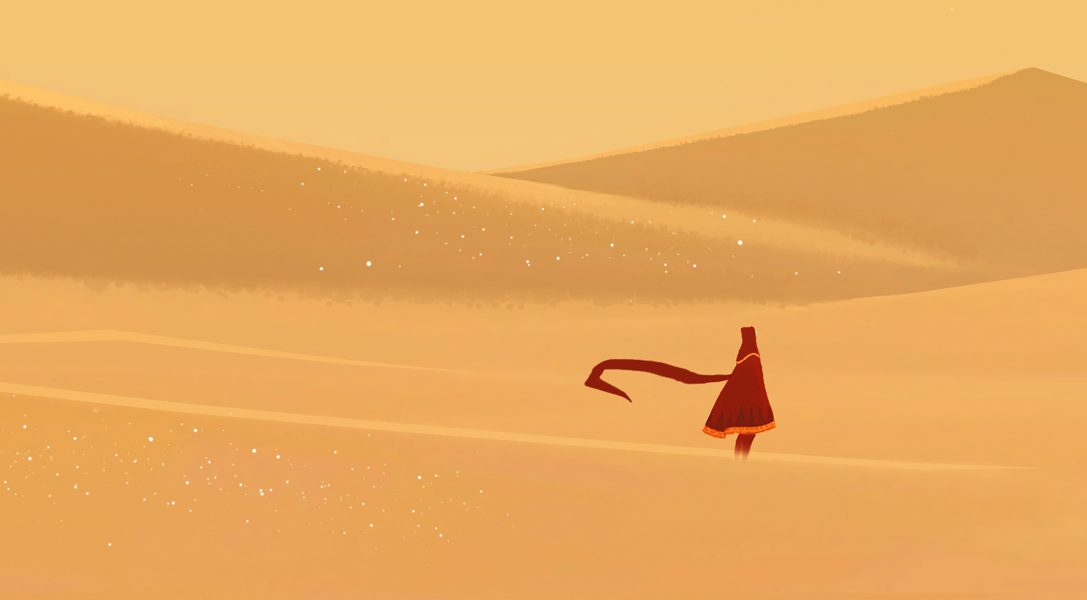 Journey arrives on PS4 today, with 20% PS Plus discount