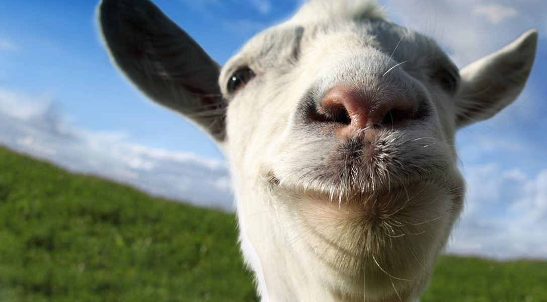 Goat Simulator lands on PS3 and PS4 next month