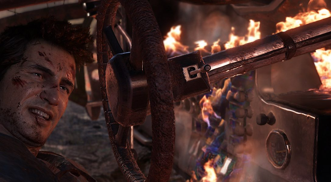Watch the incredible full 16 minute Uncharted 4: A Thief's End E3 demo