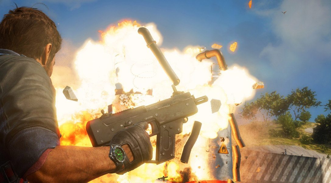 New Just Cause 3 video shines the spotlight on Rico Rodriguez