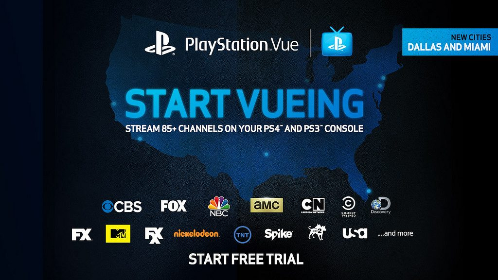 Playstation Vue Launches In Dallas And Miami Playstation Blog