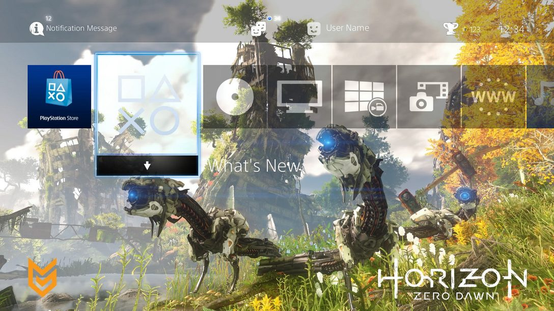PS HEROES: Get Exclusive Horizon Zero Dawn Theme for PS4