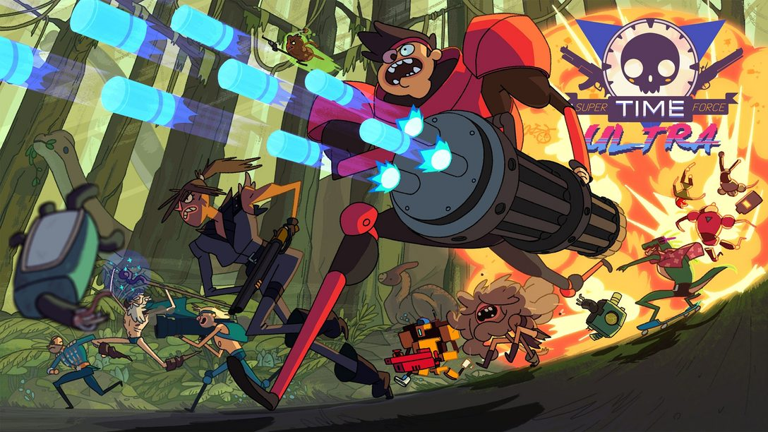 14 Totally True Facts About Super Time Force Ultra