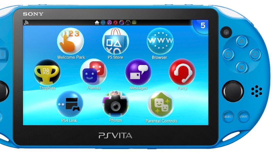 Aqua Blue PS Vita Coming to GameStop This November