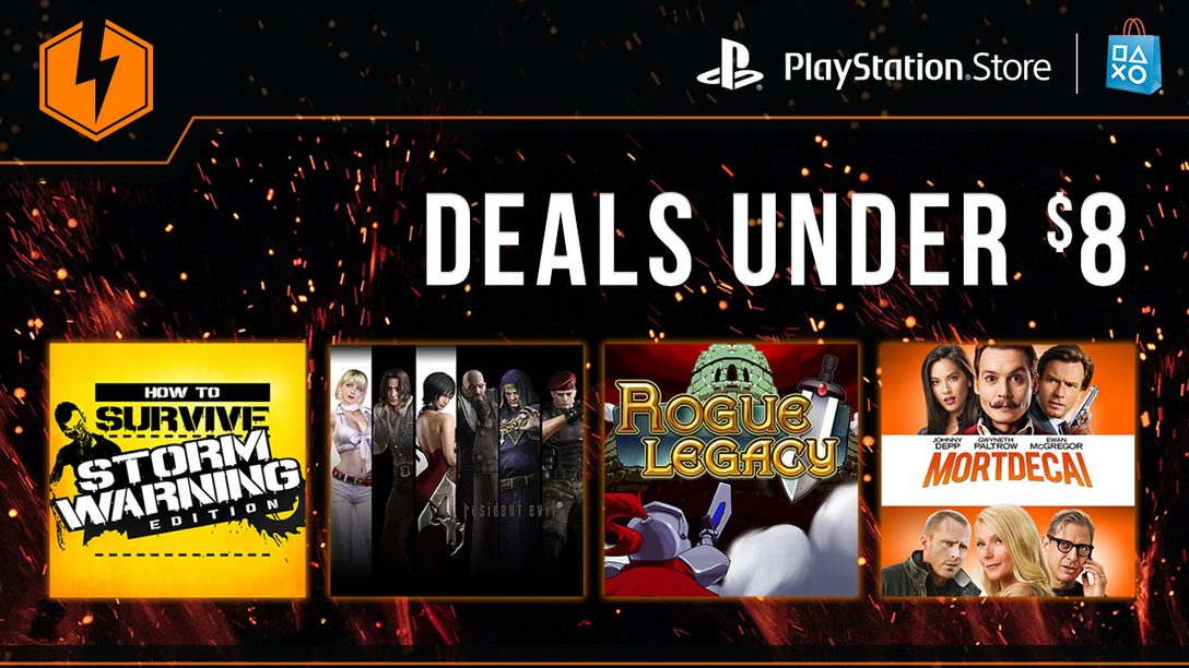 Flash Sale Now: Deals Under $8