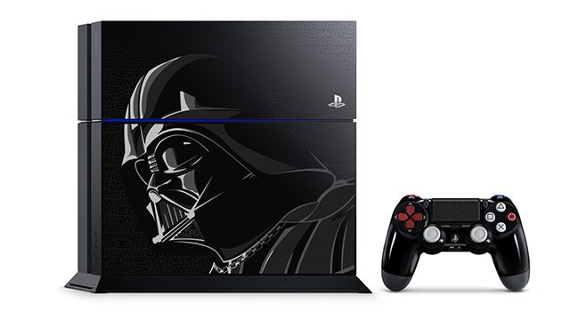 Darth Vader-Inspired PS4 System Revealed, Two Star Wars Bundles Out This November
